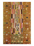 Frieze Wall Decal by Gustav Klimt