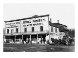 Hotel Kinsey and Meat Market Wall Decal by Clark Kinsey