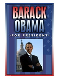 Barack Obama For President Wall Decal