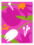 Astro Floral II Wall Decal