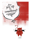 Little Devil Wall Decal