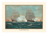 U.S. Navy Frigate, 1815 Wall Decal by  Werner