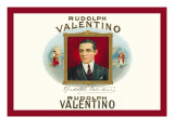 Rudolph Valentino Cigars Wall Decal