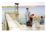 A Kiss Wall Decal by Sir Lawrence Alma-Tadema