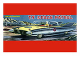T.V. Space Patrol Car Wall Decal