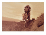 Taos Warrior Wall Decal by Carl And Grace Moon