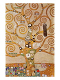 Frieze II Wall Decal by Gustav Klimt