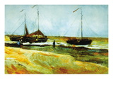 Calm Weather Autocollant mural par Vincent van Gogh