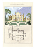 Chateau in the Flemish Style Wall Decal by Richard Brown