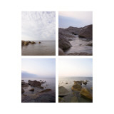 Rocky Coast Four Patch Wallstickers