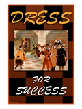 Dress For Success Wall Decal