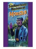 Frankenstein's Mechanical Monster Wall Decal