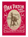 Dan Patch Two Step Wall Decal