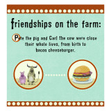 Farm Friendship Wallstickers