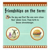 Farm Friendship Wall Decal