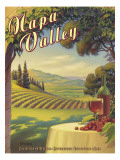 Napa Valley Wall Decal by Kerne Erickson