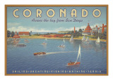 Coronado Beach Wall Decal by Kerne Erickson