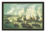 Bombardment and Capture of Island Number Ten Wall Decal