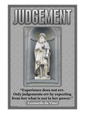 Judgment Wall Decal