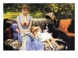 Silence Wall Decal by James Tissot
