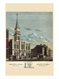 Symbols - Masonic Hall - Philadelphia Wall Decal