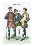 Italian Costumes: Neopolitan Soldiers Wall Decal