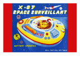 X-07 Space Surveillant Wall Decal