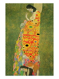 Abandoned Hope Vinilo decorativo por Gustav Klimt