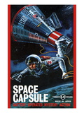 Space Capsule Wall Decal