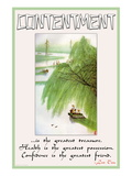 Contentment Wall Decal
