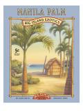マニラの椰子 ウォールステッカー : カーン・エリクソン