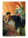 Unconscious Rivals Wall Decal by Sir Lawrence Alma-Tadema