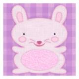 Needlepoint Bunny Wallstickers