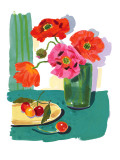 Floral Still Life Wall Decal
