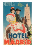 Hotel Madrid Wall Decal