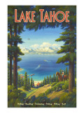 Lake Tahoe Wall Decal by Kerne Erickson