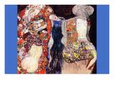 Adorn The Bride with Veil and Wreath Wandtattoo von Gustav Klimt