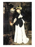 The Farewell Wall Decal by James Tissot
