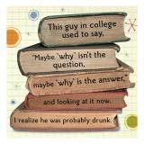 Why is the Answer - Duvar Çıkartması