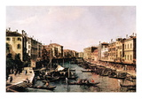 Grand Canal Autocollant mural par  Canaletto