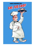 Big Joe Chef Wall Decal