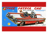 Space Patrol Car Wall Decal