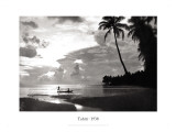 Tahiti, 1938 Wall Decal