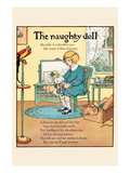 The Naughty Doll Wall Decal by Eugene Field
