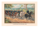 U.S. Army Cavalry Field Equipment, 1899 Wall Decal by Arthur Wagner