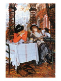 Breakfast Wall Decal by James Tissot