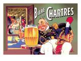 Biere de Chartres Wallstickers af Eugene Oge