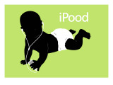 iPood Baby Wall Decal
