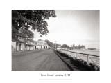 Front Street, Lahaina, 1917 Muursticker