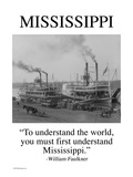 Mississippi Wall Decal by Wilbur Pierce